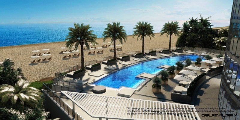 Watch Sharks From Your 50th-Floor Balcony Pool - Porsche Design Tower Miami 1