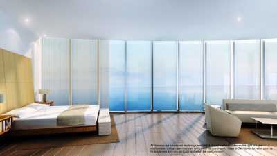Watch Sharks From Your 50th-Floor Balcony Pool - Porsche Design Tower Miami 10