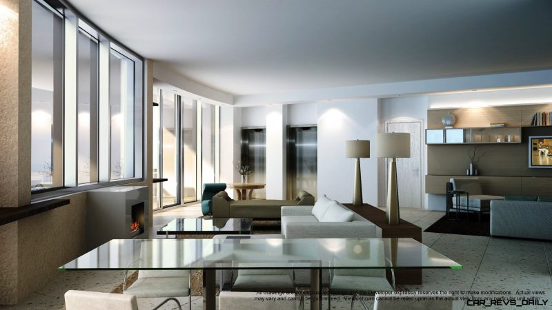 Watch Sharks From Your 50th-Floor Balcony Pool - Porsche Design Tower Miami 11