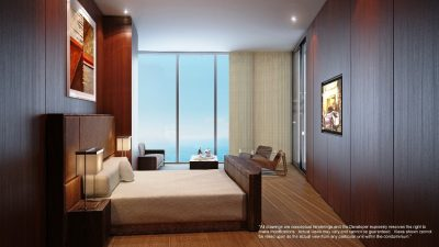 Watch Sharks From Your 50th-Floor Balcony Pool - Porsche Design Tower Miami 14