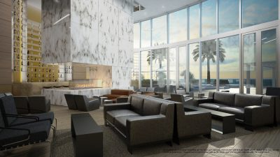 Watch Sharks From Your 50th-Floor Balcony Pool - Porsche Design Tower Miami 18