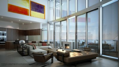 Watch Sharks From Your 50th-Floor Balcony Pool - Porsche Design Tower Miami 19