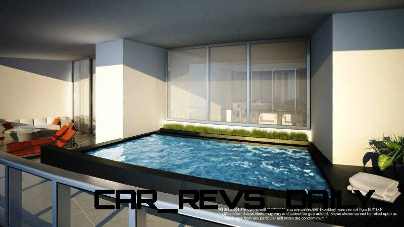 Watch Sharks From Your 50th-Floor Balcony Pool - Porsche Design Tower Miami 26
