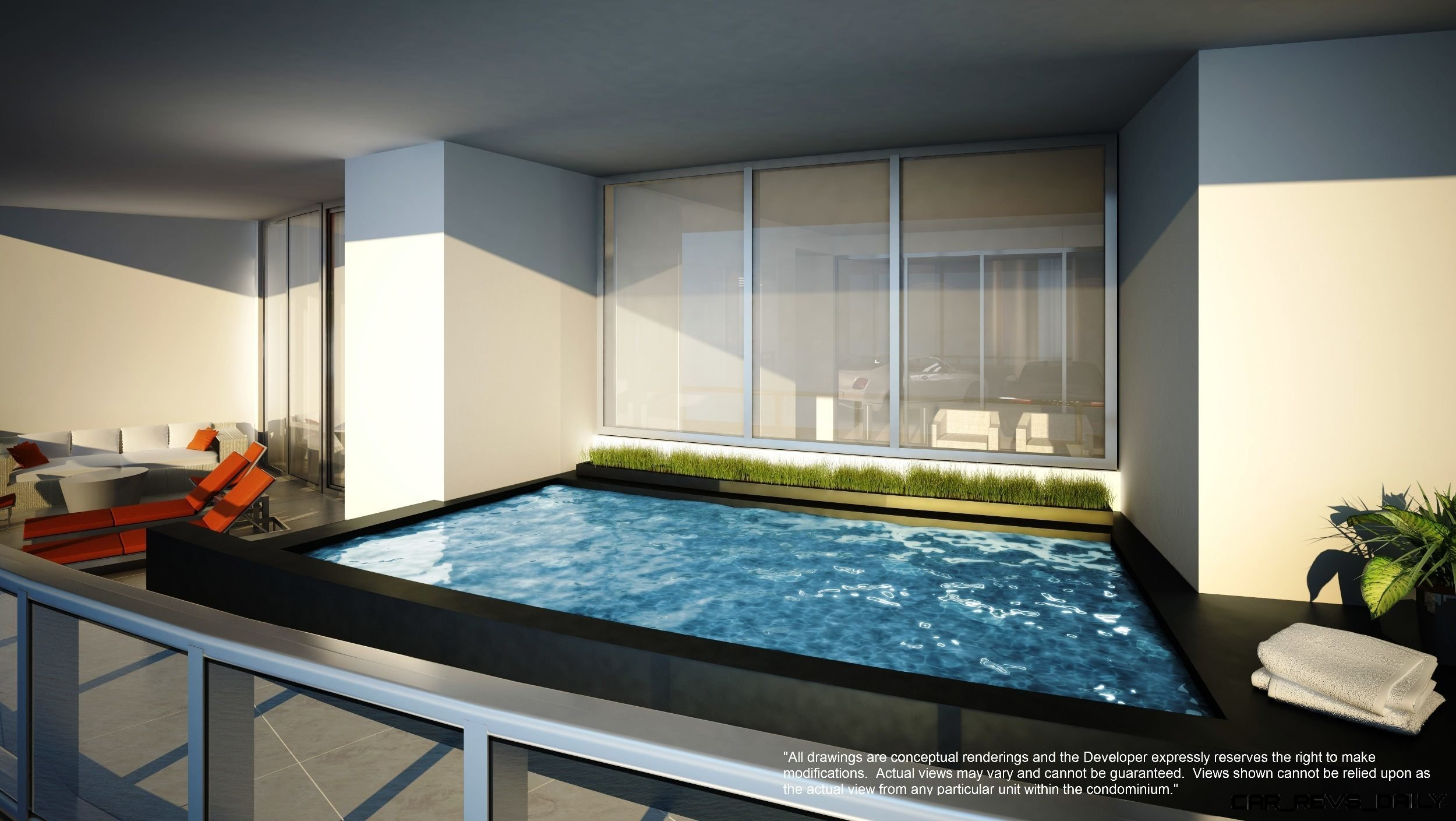 Porsche Design Tower Miami Watch Sharks From Your 50th
