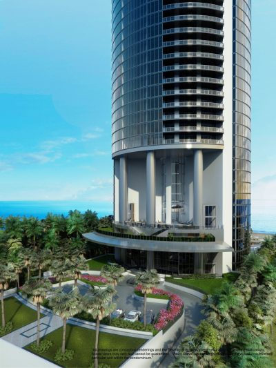 Watch Sharks From Your 50th-Floor Balcony Pool - Porsche Design Tower Miami 29