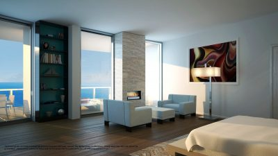 Watch Sharks From Your 50th-Floor Balcony Pool - Porsche Design Tower Miami 3