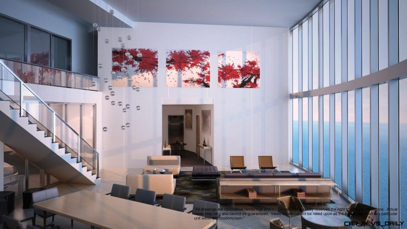 Watch Sharks From Your 50th-Floor Balcony Pool - Porsche Design Tower Miami 32