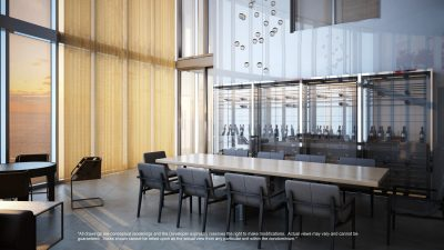 Watch Sharks From Your 50th-Floor Balcony Pool - Porsche Design Tower Miami 4