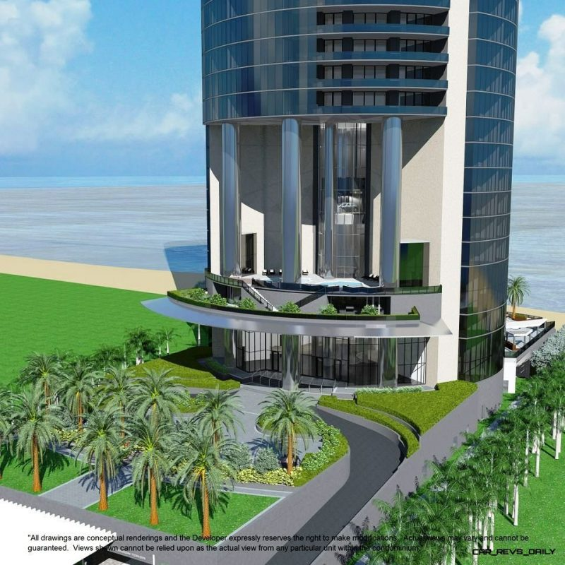 Watch Sharks From Your 50th-Floor Balcony Pool - Porsche Design Tower Miami 58
