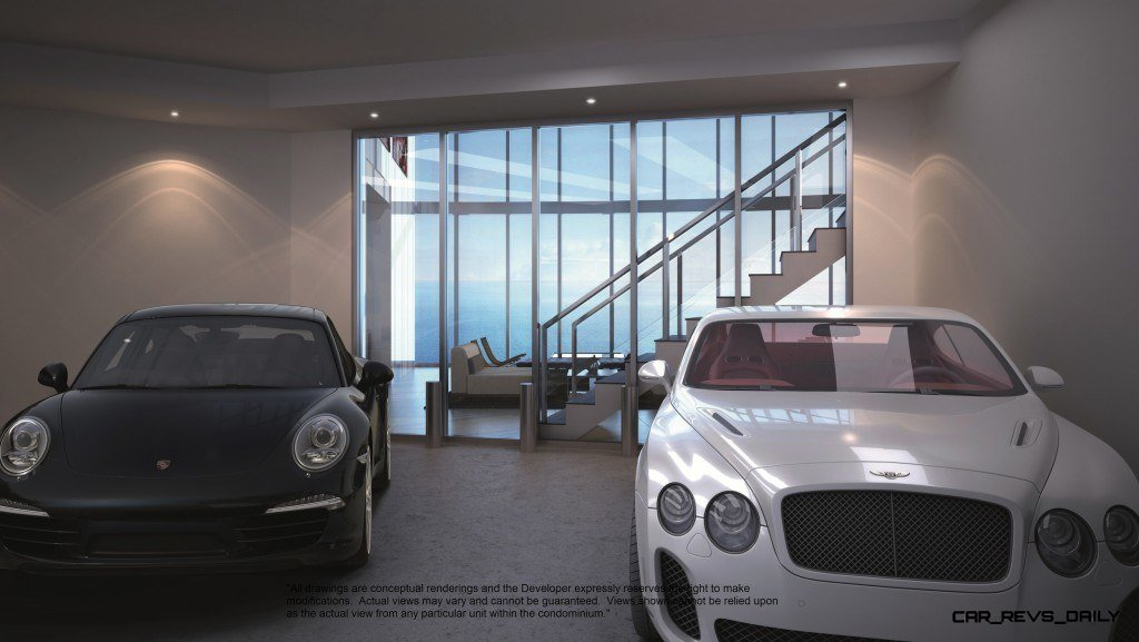 Watch Sharks From Your 50th-Floor Balcony Pool - Porsche Design Tower Miami 63