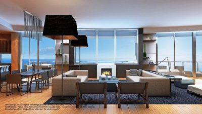 Watch Sharks From Your 50th-Floor Balcony Pool - Porsche Design Tower Miami 7