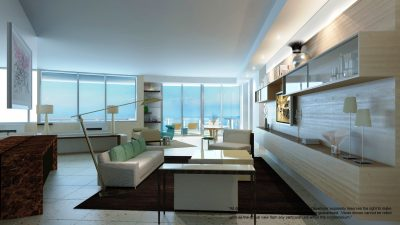 Watch Sharks From Your 50th-Floor Balcony Pool - Porsche Design Tower Miami 8
