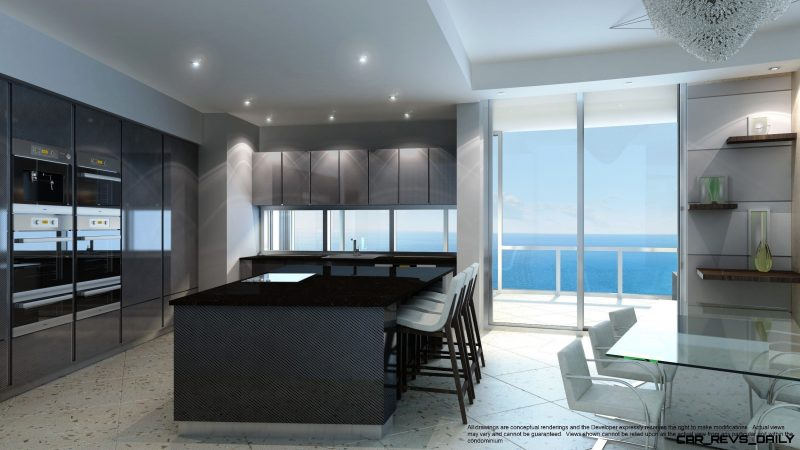 Watch Sharks From Your 50th-Floor Balcony Pool - Porsche Design Tower Miami 9