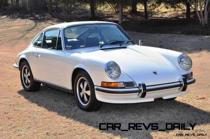 White 1972 Porsche 911S for sale in Raleigh NC 1
