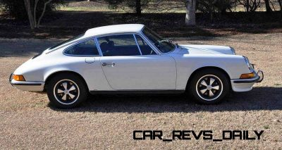 White 1972 Porsche 911S for sale in Raleigh NC 2
