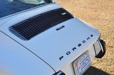 White 1972 Porsche 911S for sale in Raleigh NC 26
