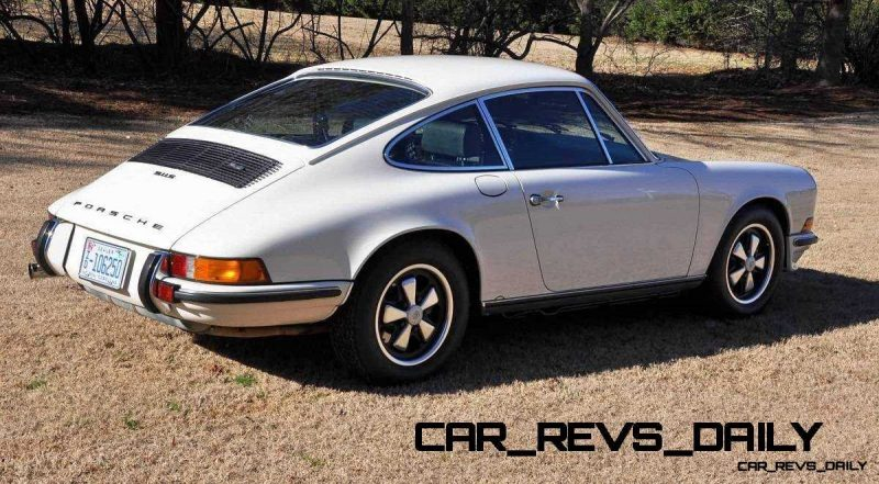 White 1972 Porsche 911S for sale in Raleigh NC 3