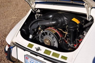 White 1972 Porsche 911S for sale in Raleigh NC 42