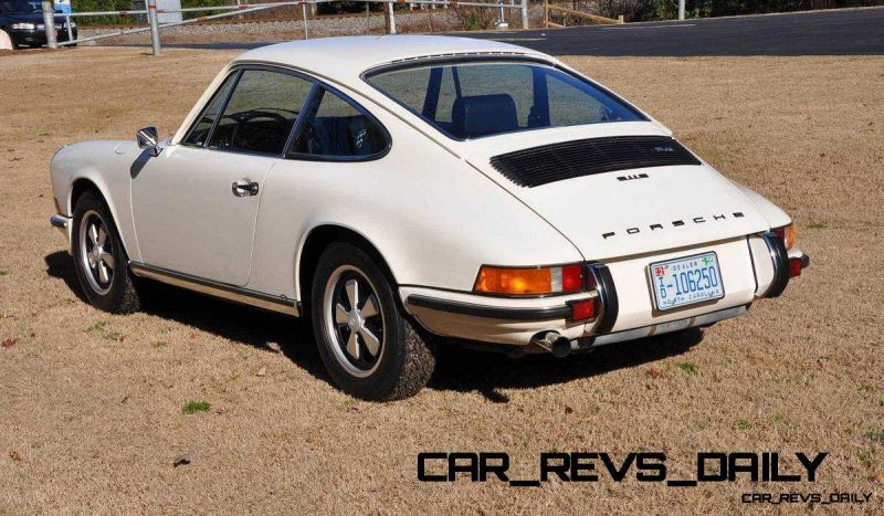 White 1972 Porsche 911S for sale in Raleigh NC 6