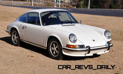 White 1972 Porsche 911S for sale in Raleigh NC 7