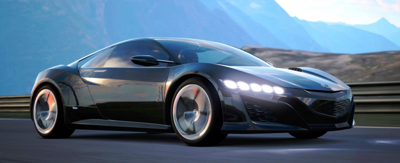 Acura NSX (Concept) Makes Thrilling Track Debut in Gran Turismo 6 Acura NSX (Concept) Makes Thrilling Track Debut in Gran Turismo 6