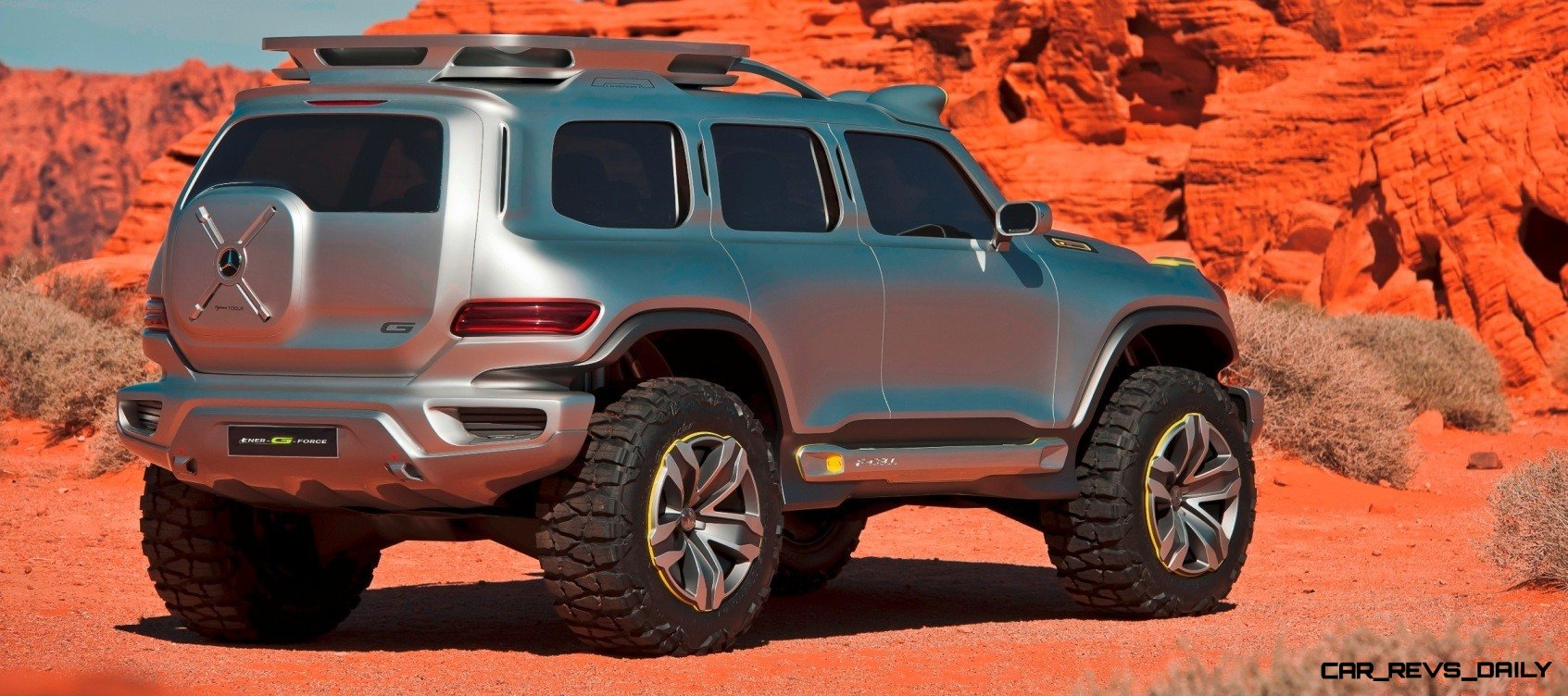 Concept flashback 2012 mercedes benz ener g force for Mercedes benz truck g class