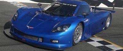 Chevrolet unveiled its 2012 Corvette Daytona Prototype at Daytona International Speedway on Tuesday, November 15, 2011