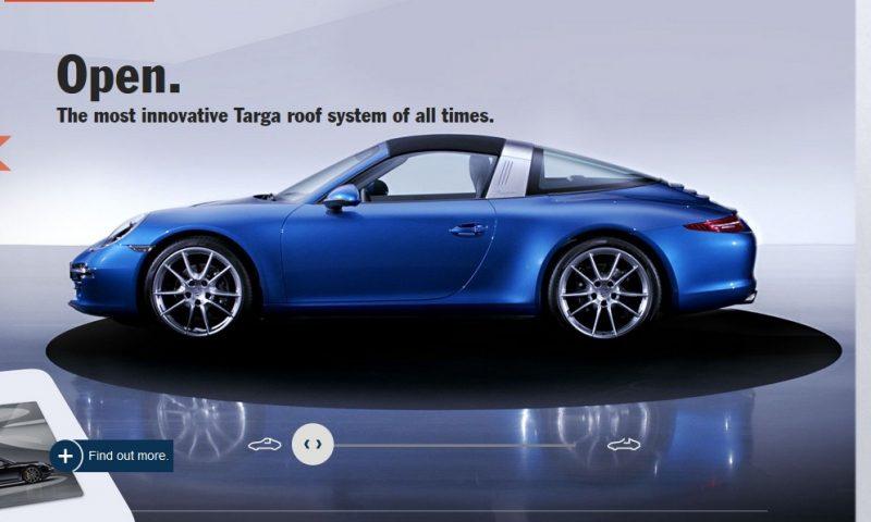 2014 911 TARGA ANIMATION Images 44