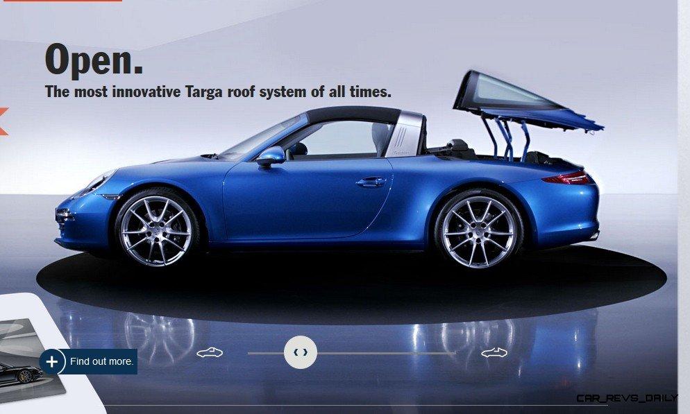 2014 911 TARGA ANIMATION Images 48