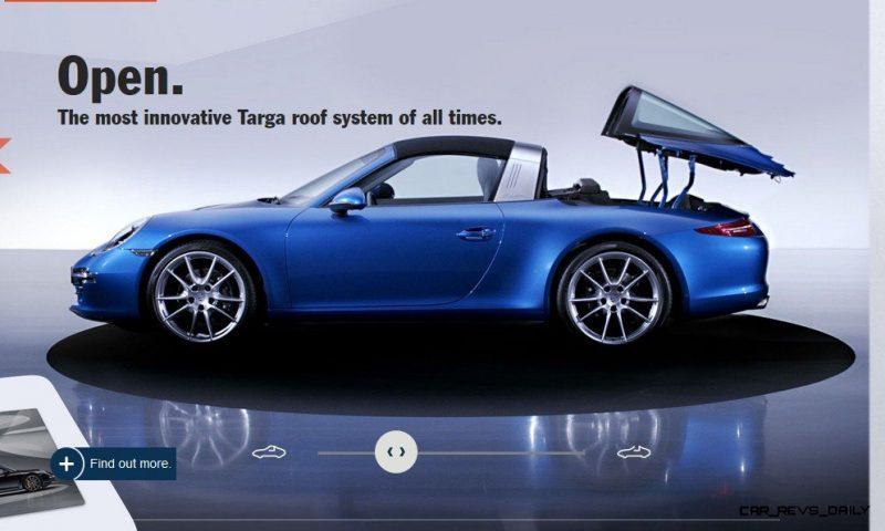 2014 911 TARGA ANIMATION Images 49