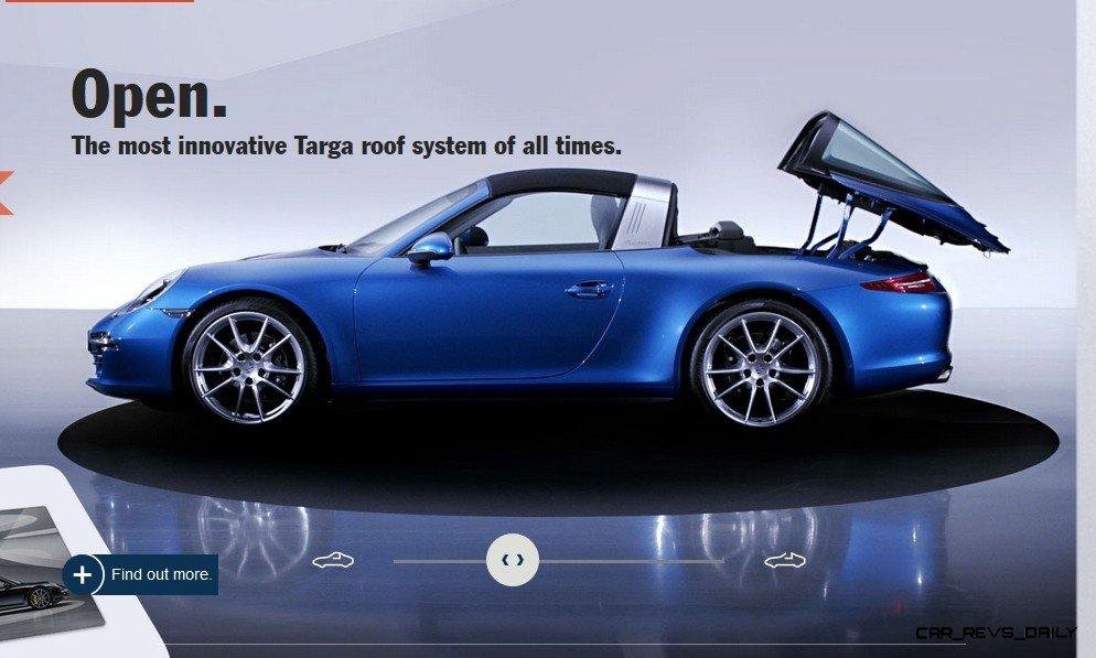 2014 911 TARGA ANIMATION Images 50