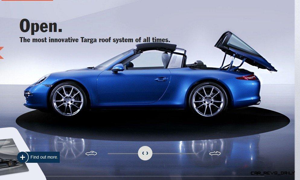 2014 911 TARGA ANIMATION Images 51