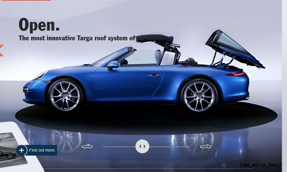 2014 911 TARGA ANIMATION Images 52