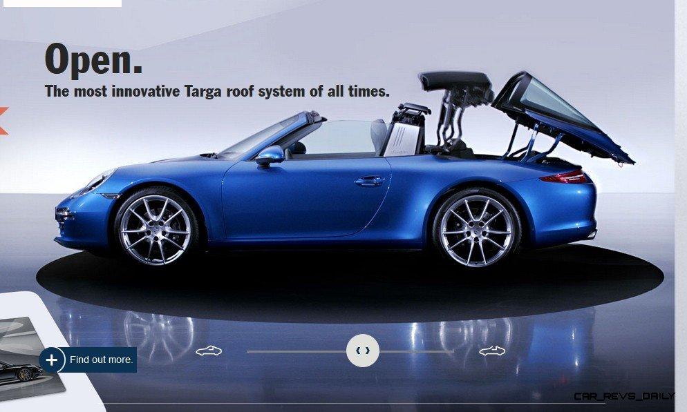 2014 911 TARGA ANIMATION Images 55
