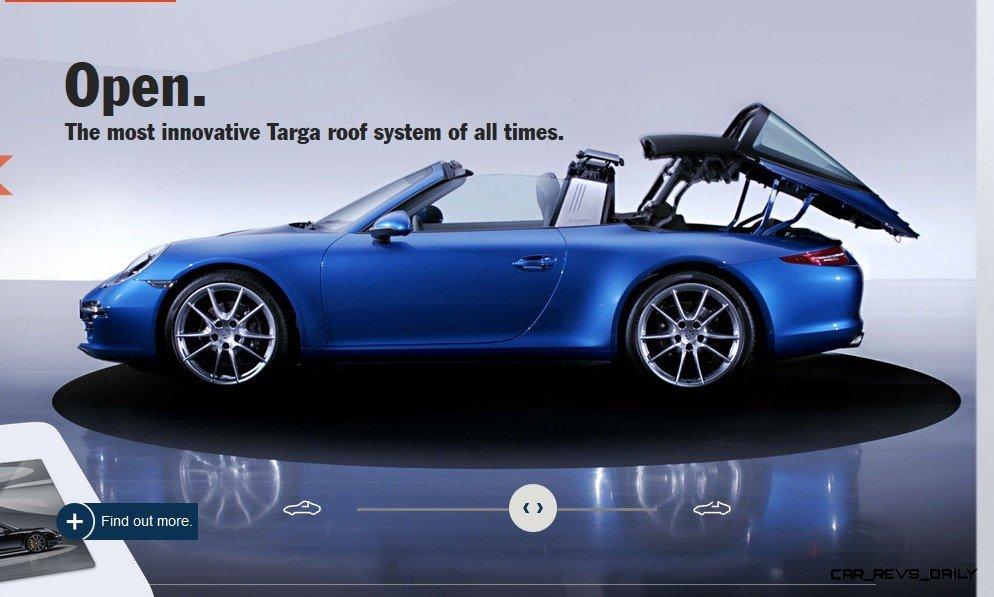 2014 911 TARGA ANIMATION Images 56