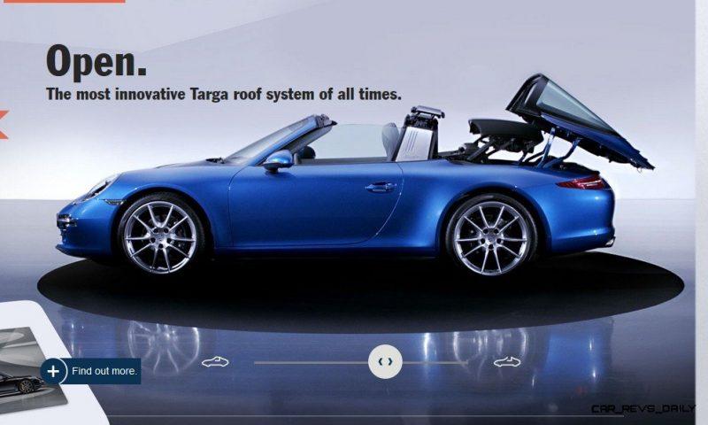 2014 911 TARGA ANIMATION Images 57