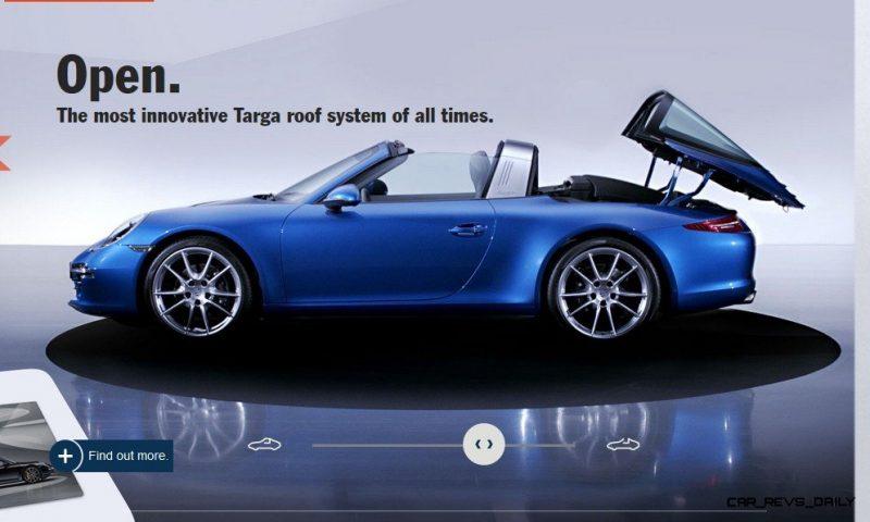 2014 911 TARGA ANIMATION Images 58