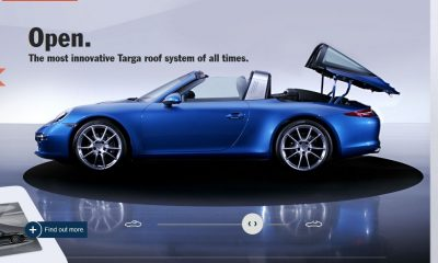 2014 911 TARGA ANIMATION Images 60