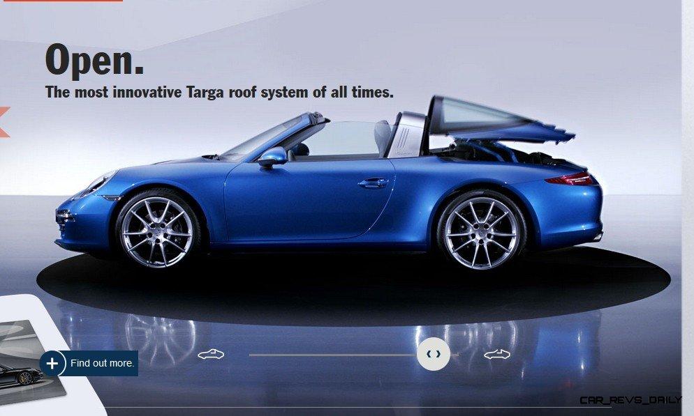 2014 911 TARGA ANIMATION Images 64