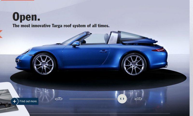 2014 911 TARGA ANIMATION Images 65