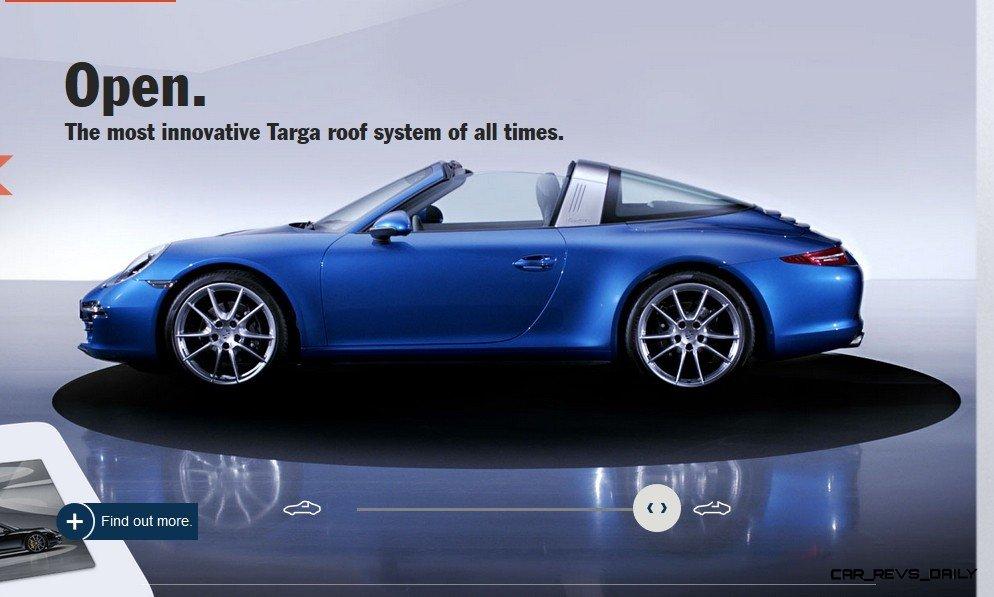 2014 911 TARGA ANIMATION Images 66