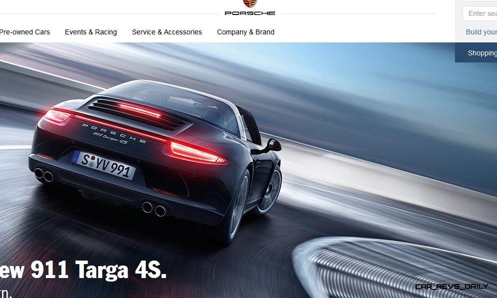 2014 911 TARGA ANIMATION Images 70