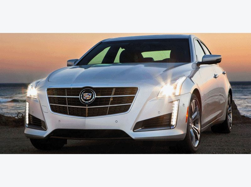 2014 Cadillac CTS Animated High-Res Photos