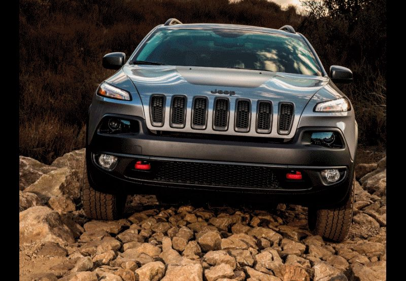 2014 Jeep Cherokee - Exterior Trailhawk GIF