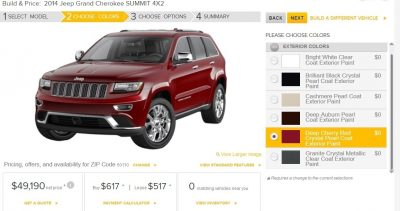 2014 Jeep Grand Cherokee Summit, Overland and Ltd 11