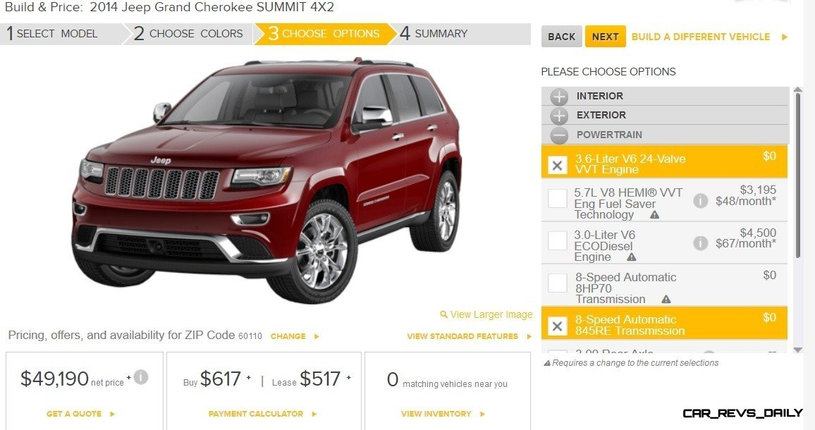 2014 Jeep Grand Cherokee Summit, Overland and Ltd 12