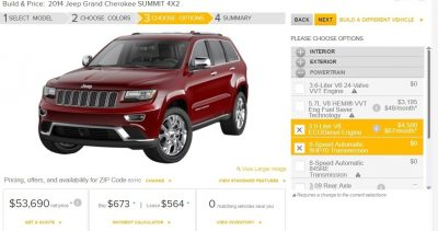 2014 Jeep Grand Cherokee Summit, Overland and Ltd 13