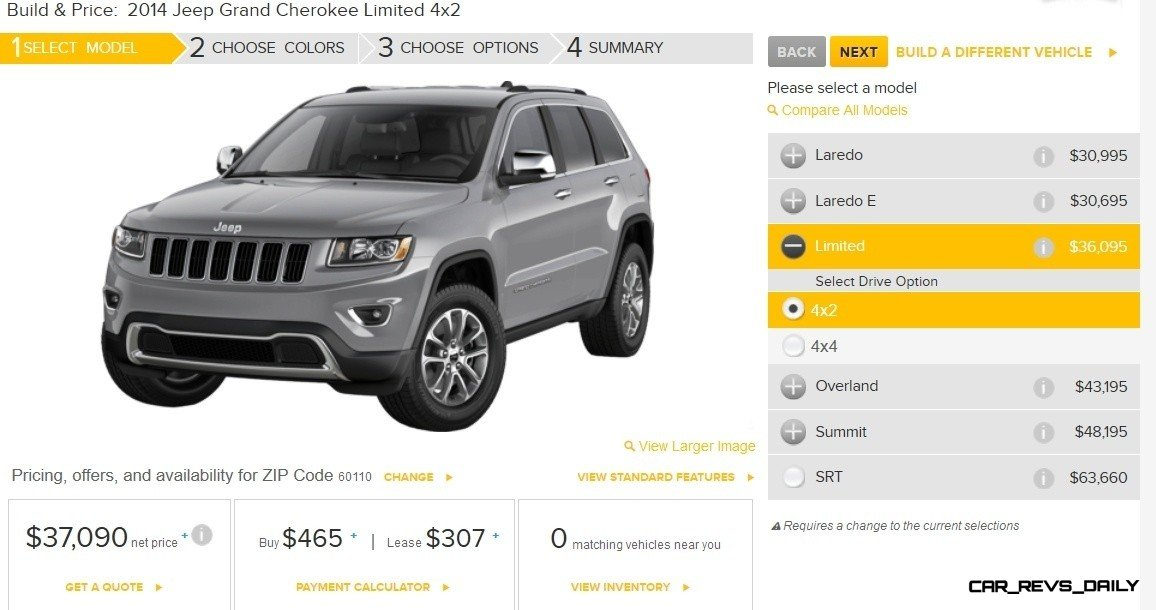 2014 Jeep Grand Cherokee Summit, Overland and Ltd 3
