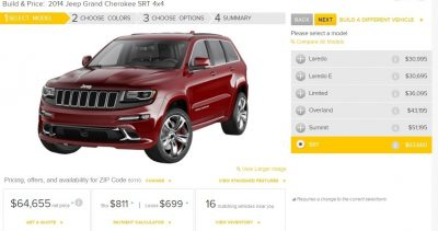 2014 Jeep Grand Cherokee Summit, Overland and Ltd 7
