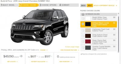 2014 Jeep Grand Cherokee Summit, Overland and Ltd 9